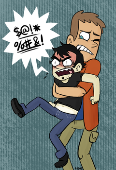 Dan Vs. No they aren't laughing at us by SugarKills