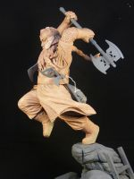 Gimli Raw Sideview by TKMillerSculpt