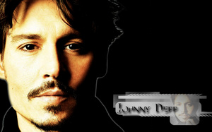 Johnny depp wall by Gatewhale