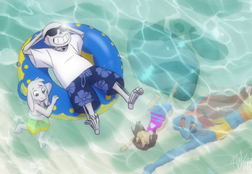 Undertale - In the Sea by TC-96