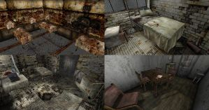 Silent Hill - Brookhaven Stanley rooms (download) by Mageflower