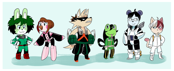 BNHA x Animal Crossing by brandirecognition