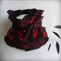 NIGHTFALL Fashion Scarf by TianaChe