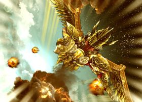Saint Seiya Legend of the sanctuary by eduardosecolin
