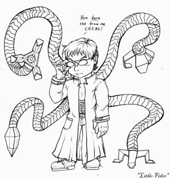 Chibi Doc Ock by Lithe-Fider