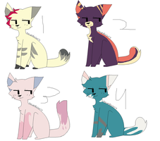 Cat adopts-OPEN by IvypopAdopts