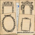 14 old frames by geverto