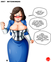 ANGRY ELIZABETH :) by Witchking00