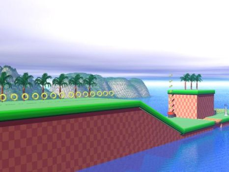 Green Hill Zone 1 by Havoc-The-Tenrec
