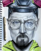 Heisenberg (Breaking Bad) by RavenDANIELS