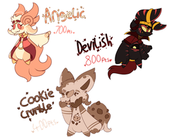 Soarling Point Adopts, Batch 1 (Sold 3/3) by Jendra82