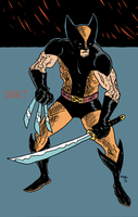 wolverine by erspears