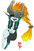 Happy Midna by ManiacPaint