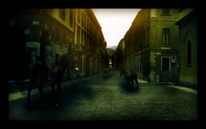 The Horse's Town II by EmberGFX