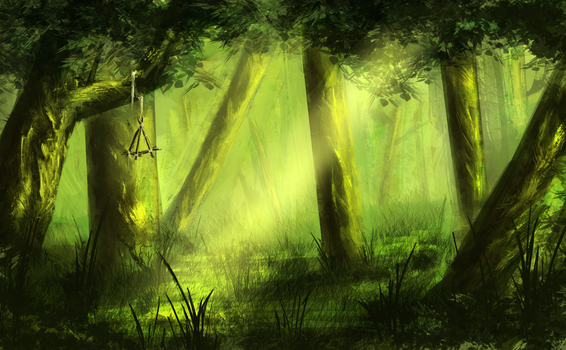 Emerald Forest by GodZmc