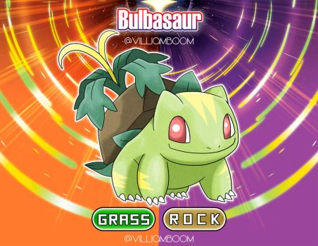 Alolan Bulbasaur!! by villi-c