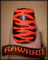 The Tiger Goes RAWRR by mslaynie