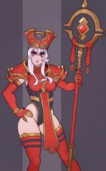 Heroes of the Storm, Whitemane by SplashBrush
