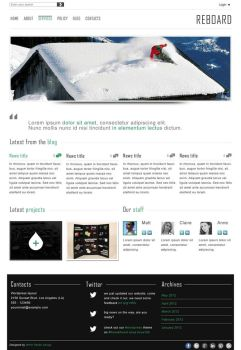 Reboard - Blog and Portfolio Wordpress Theme by kekkorider