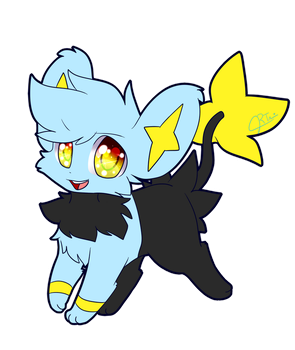 Chap the Shinx (Art Request) by Reyna174