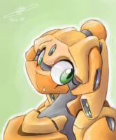 Robo Girl-Tablet Prac by pizzacat