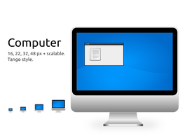 Computer Icon by techtoucian