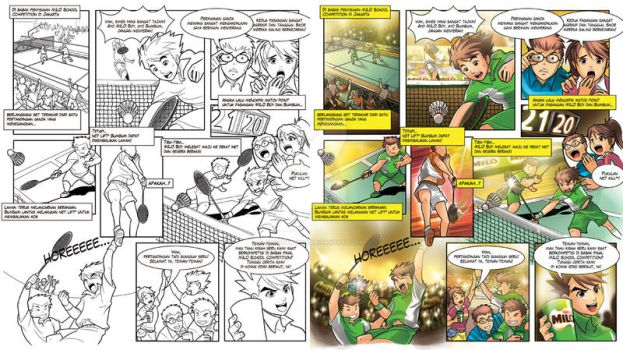 Milo Comic - Milo Team Wins by dr4g0nw1ngs