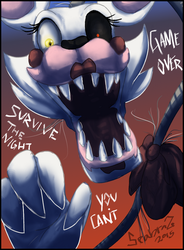 Mangle ~FNAF~ by Seadraz