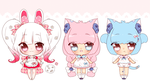 Sanrio inspired Fruites adopts - CLOSED by mahkala