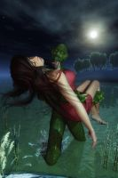Into the black lagoon by ozzboyd