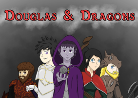 Douglas and Dragons by XmateusD