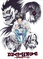 bandwagon- L death note by baberscamille