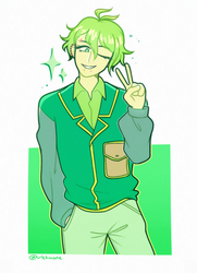 huevember day 25 - amami by korekiyos