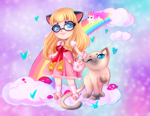 Chibi Commission: Blade and Soul by LibeRitee