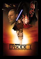 Star Wars Episode I: The Phantom Menace by ChristopherOwenArt