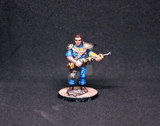 Vault Dweller ( Fallout The Board Game ) by frostbumblebee