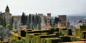 The Alhambra palace in Spain by vmribeiro