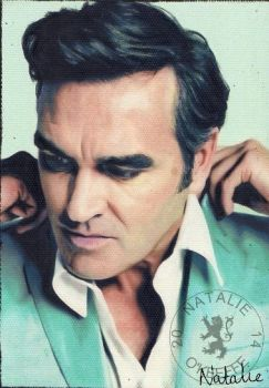 Morrissey - Oil Pastels by NataliesCourageClub