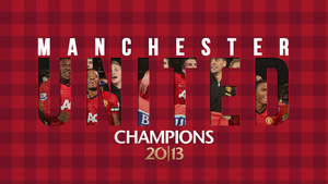 Manchester United Champions 2013 by kasbandi