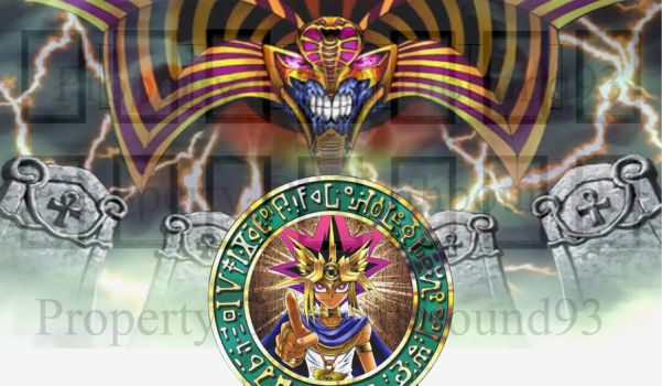 Pharaoh and Exodia Yugioh Mat by Earthbound93