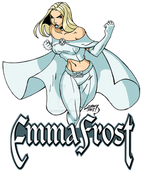 Emma Frost 2017 COLORED