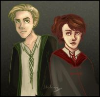 Scorpius and Rose by Until-The-Dark