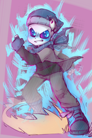 Swap Cop!Sans Ready For Action! by thegreatrouge