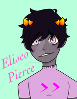 Homestuck OC Eliseo (El-ee-see-oh) Pierce by ChocoOzorii