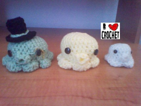 A Family of Squishies by CreationsbyJolie