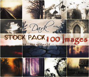Dark - Stocks Pack #1 by AytenSharif11
