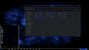 Windows 8 themes RazerBlue8 by TheBull1