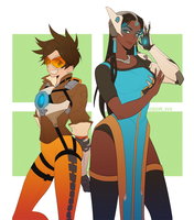 OW: tracer symmetra by Quere