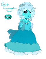 SU OC: Paraiba Tourmaline by LunaticLily13