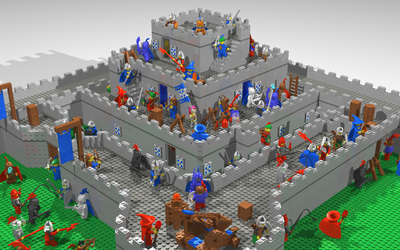 Build your own Castle Wars by GalahadSir